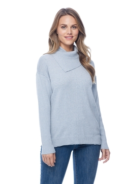 French Dressing Jeans Envelope Neck Top - Product List Image