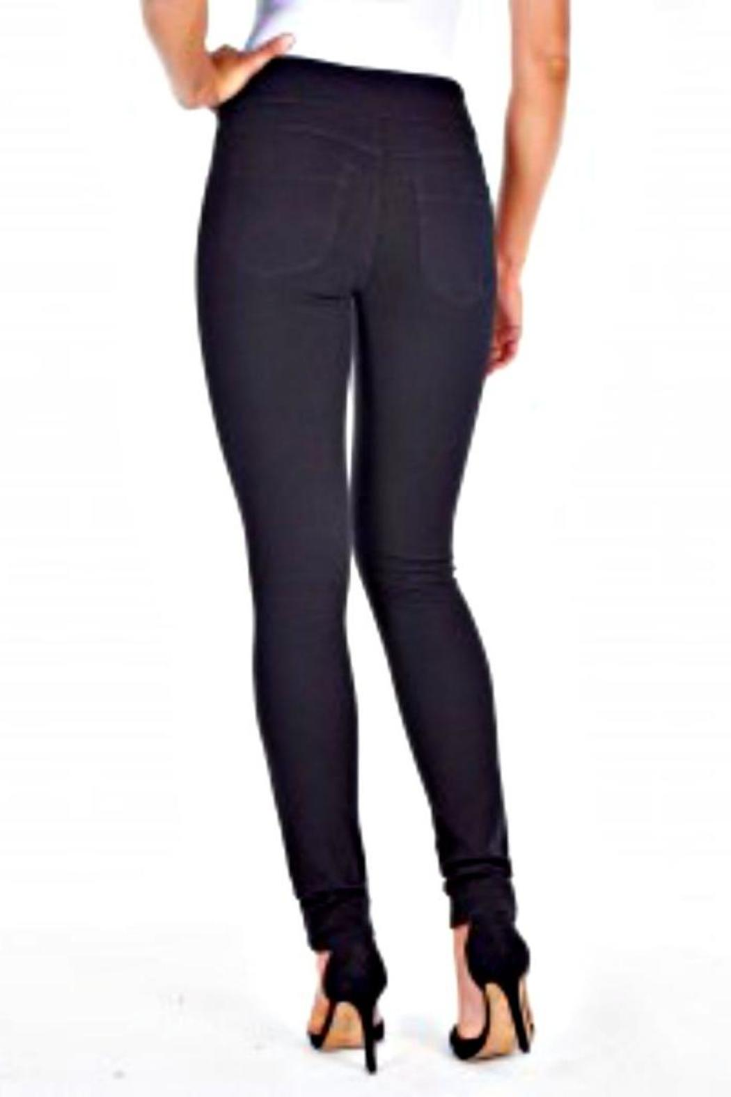 French Dressing Jeans Love Denim Jeggings - Side Cropped Image
