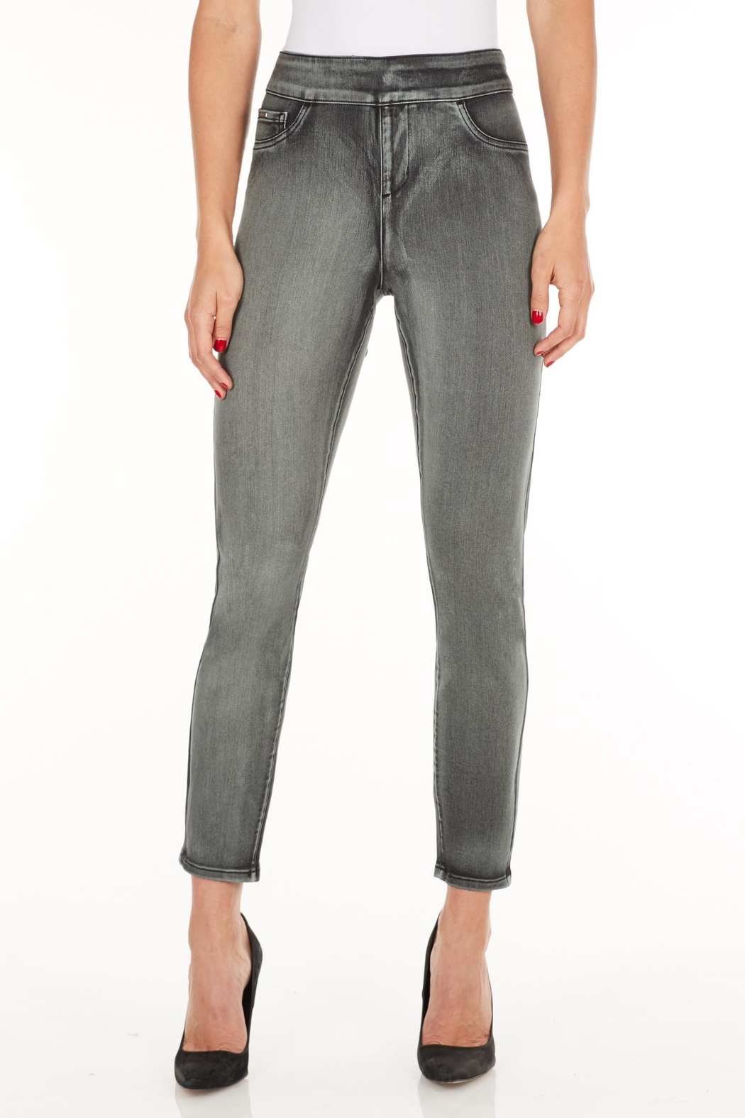 French Dressing Jeans Slim Cropped Pants - Main Image