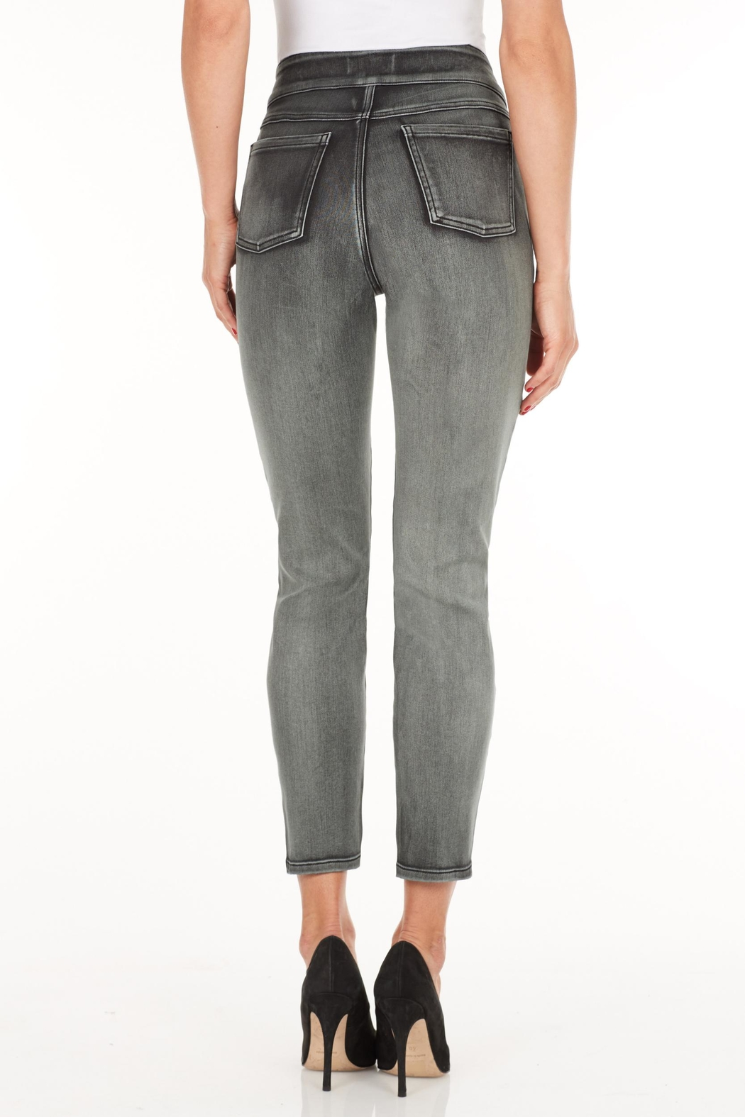 French Dressing Jeans Slim Cropped Pants - Front Full Image