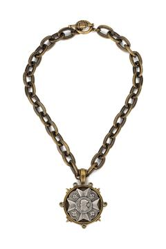 Shoptiques Product: Bravoure Medallion Necklace