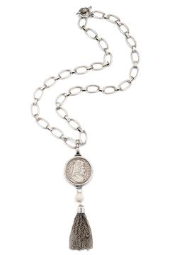 Shoptiques Product: Louis Medallion Necklace