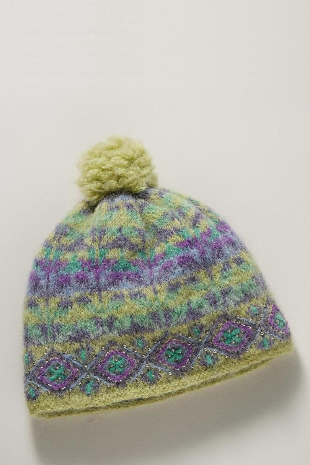 French Knot Cozy Ivy Hat - Main Image