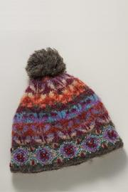 French Knot Cozy Ivy Hat - Front cropped