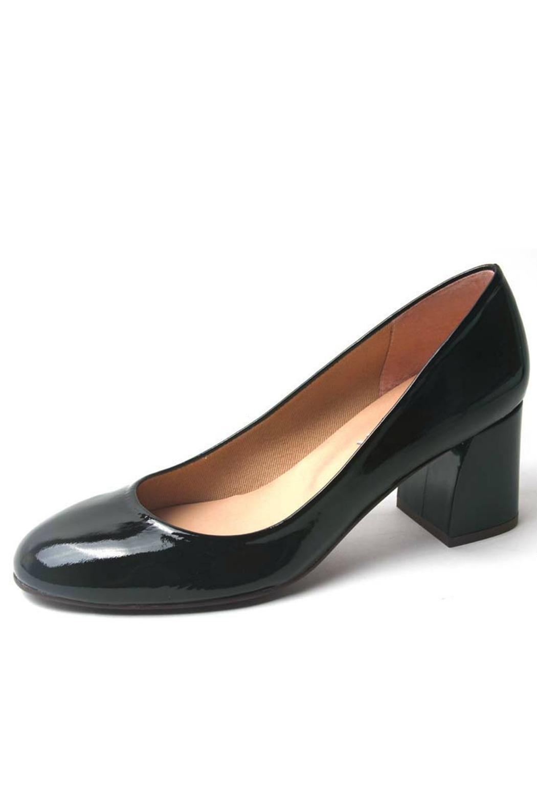 French Sole Trance Patent Heel - Main Image