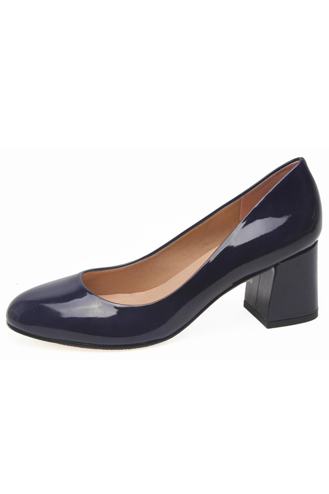 French Sole Trance Patent Heel - Front Cropped Image
