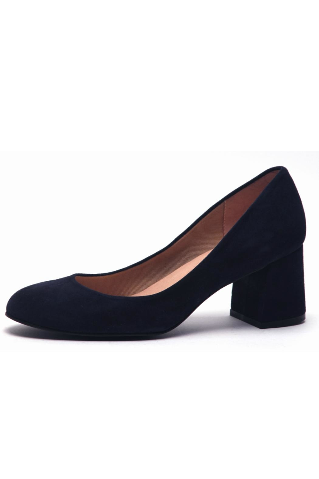 French Sole Trance Suede Pump - Main Image