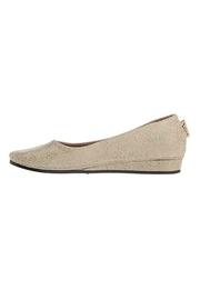 French Sole Zeppa Flat - Front cropped