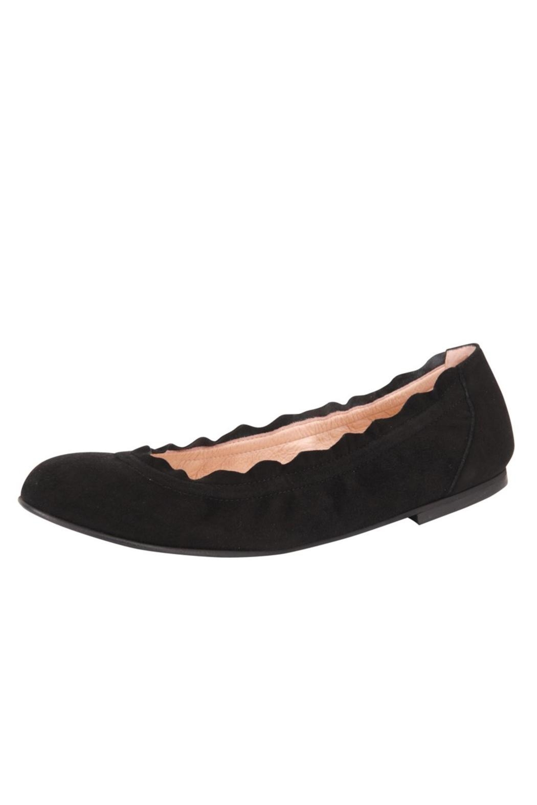 French Sole FS/NY Cuff Ballet Flats - Front Full Image