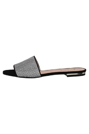 French Sole FS/NY Fomo Sparkle Slide - Front cropped