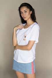 CHRLDR Frenchie Distressed Tee - Product Mini Image
