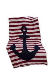 In2Green Frenchstripe Anchor Throw - Product Mini Image
