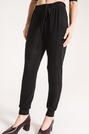 rag poets Frenchterry Jogger Pant - Product Mini Image