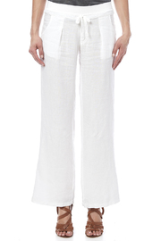 Fresh Laundry White Beachy Pant - Side cropped