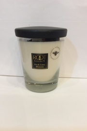 Root Candle Fresh Lime Blossom - Front cropped