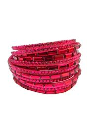 Fresh Expressions Double Wrap Bracelet - Front cropped
