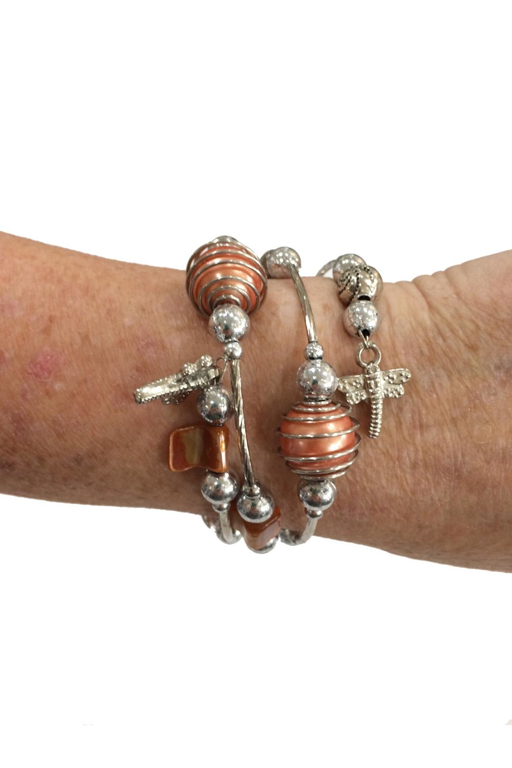 Fresh Expressions Shannon Fun Coil Bracelet - Front Full Image