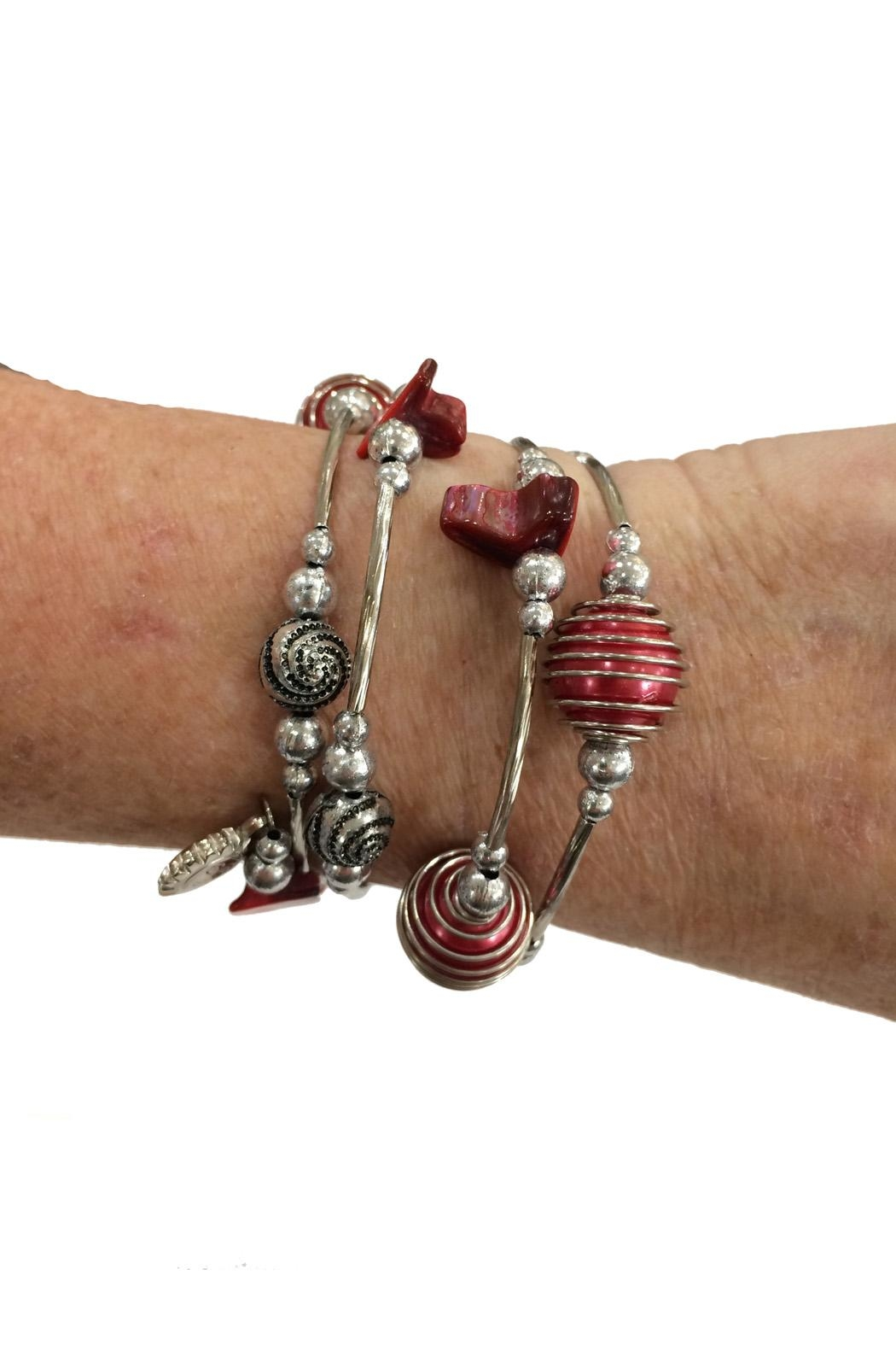 Fresh Expressions Dianna Fun Coil Bracelet - Front Full Image