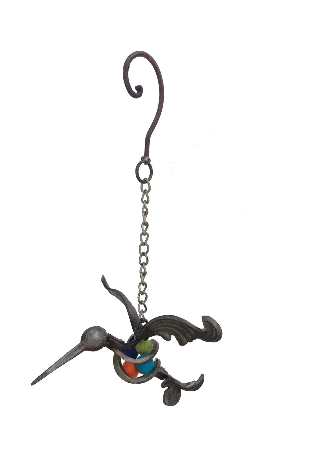 Fresh Expressions Metal Hummingbird Hanger - Front Cropped Image