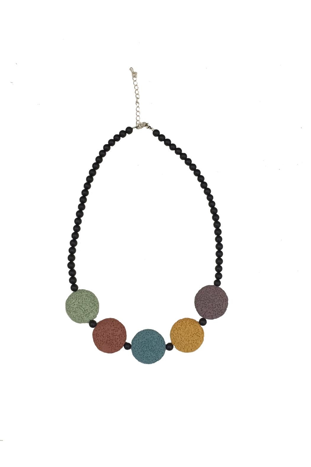 Fresh Expressions Volcanic Rock Necklace - Main Image