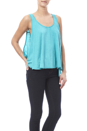 Fresh Laundry Turquoise Flow Tank - Product Mini Image