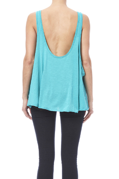 Fresh Laundry Turquoise Flow Tank - Alternate List Image