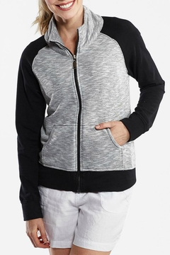 Shoptiques Product: Cotton Zip Jacket