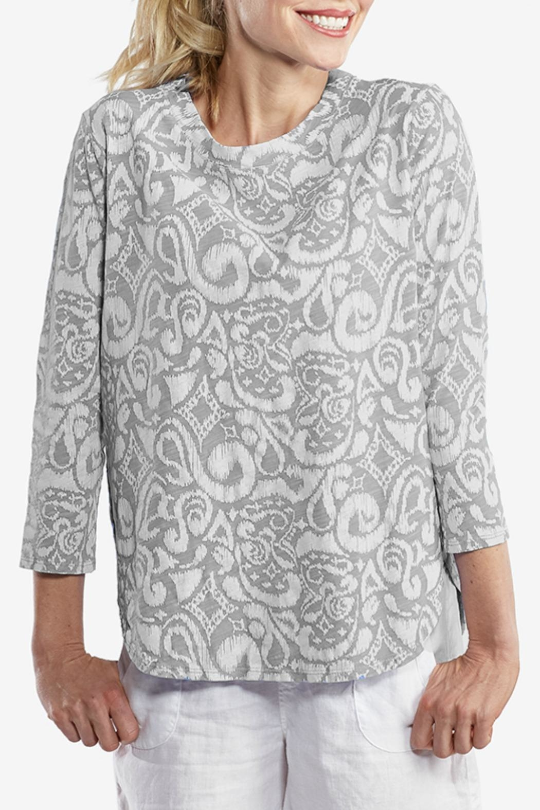 Fresh Produce Tropical Print Top - Main Image
