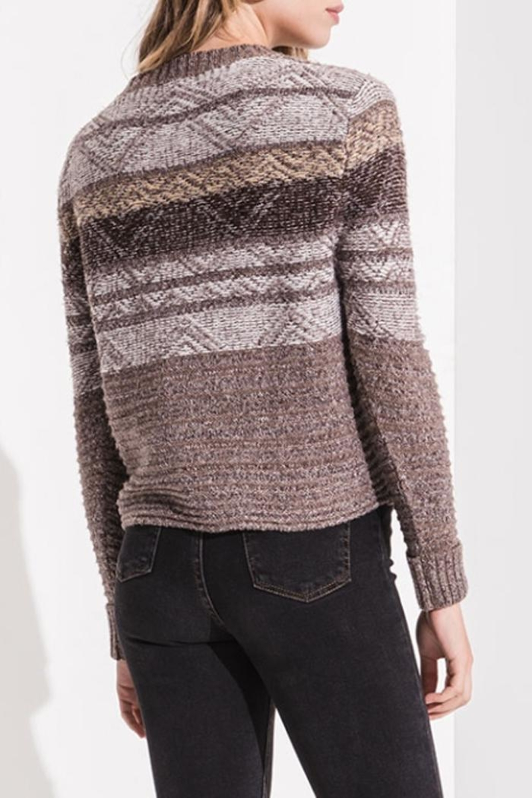 rag poets Freya Pullover Sweater - Side Cropped Image