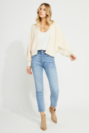 Gentle Fawn Frida Cozy Ballon Slv Open Cardi - Front cropped