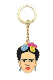 The Found Frida Kahlo Keychain - Front cropped