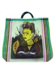 Frida Kahlo Shopper - Front cropped