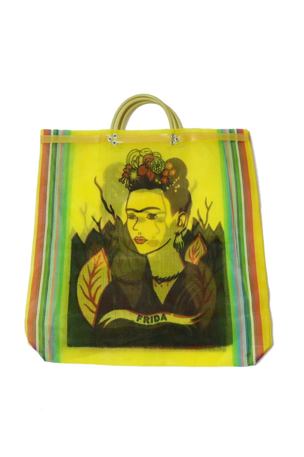 Frida Kahlo Shopper - Front Cropped Image