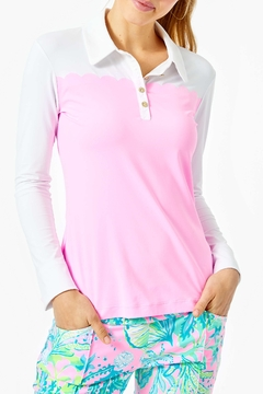 Lilly Pulitzer Frida UPF 50+ Luxletic Top - Product List Image