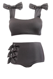 Fridasch swimwear Black Bow Set - Other