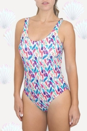 Fridasch swimwear Colorful Print Backless - Product Mini Image