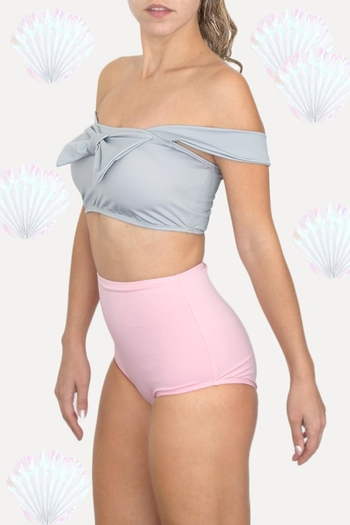 af7ae79c50931 Shoptiques 4 months ago. $61 · Fridasch swimwear Sweet Pink Gray from Mexico  ...