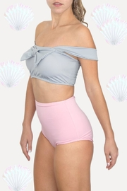 Fridasch swimwear Sweet Pink Gray - Front cropped