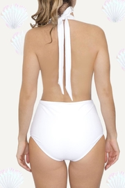 Fridasch swimwear White One-Piece Suit - Side cropped