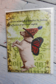 randellas enchanted greenings Friend card - Product Mini Image