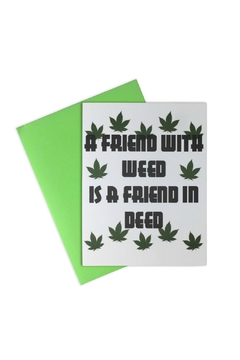 LA Trading Co. Friend With Weed - Alternate List Image