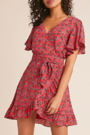 Jack by BB Dakota FRIENDLY FIRE WRAP DRESS - Product Mini Image