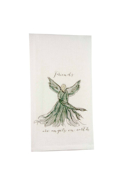 The Birds Nest FRIENDS ARE ANGELS-DARK GREY - Product Mini Image