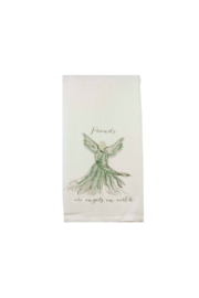 The Birds Nest FRIENDS ARE ANGELS-LIGHT GRAY - Product Mini Image