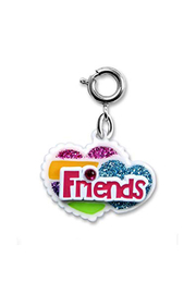 Charm It Friends Heart Charm - Front cropped