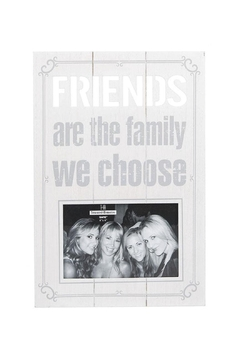 "Shoptiques Product: ""Friends..."" Laser-Cut Frame"