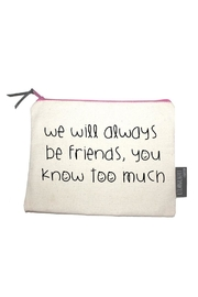 Pink Poodle Boutique Friends Makeup Pouch - Product Mini Image