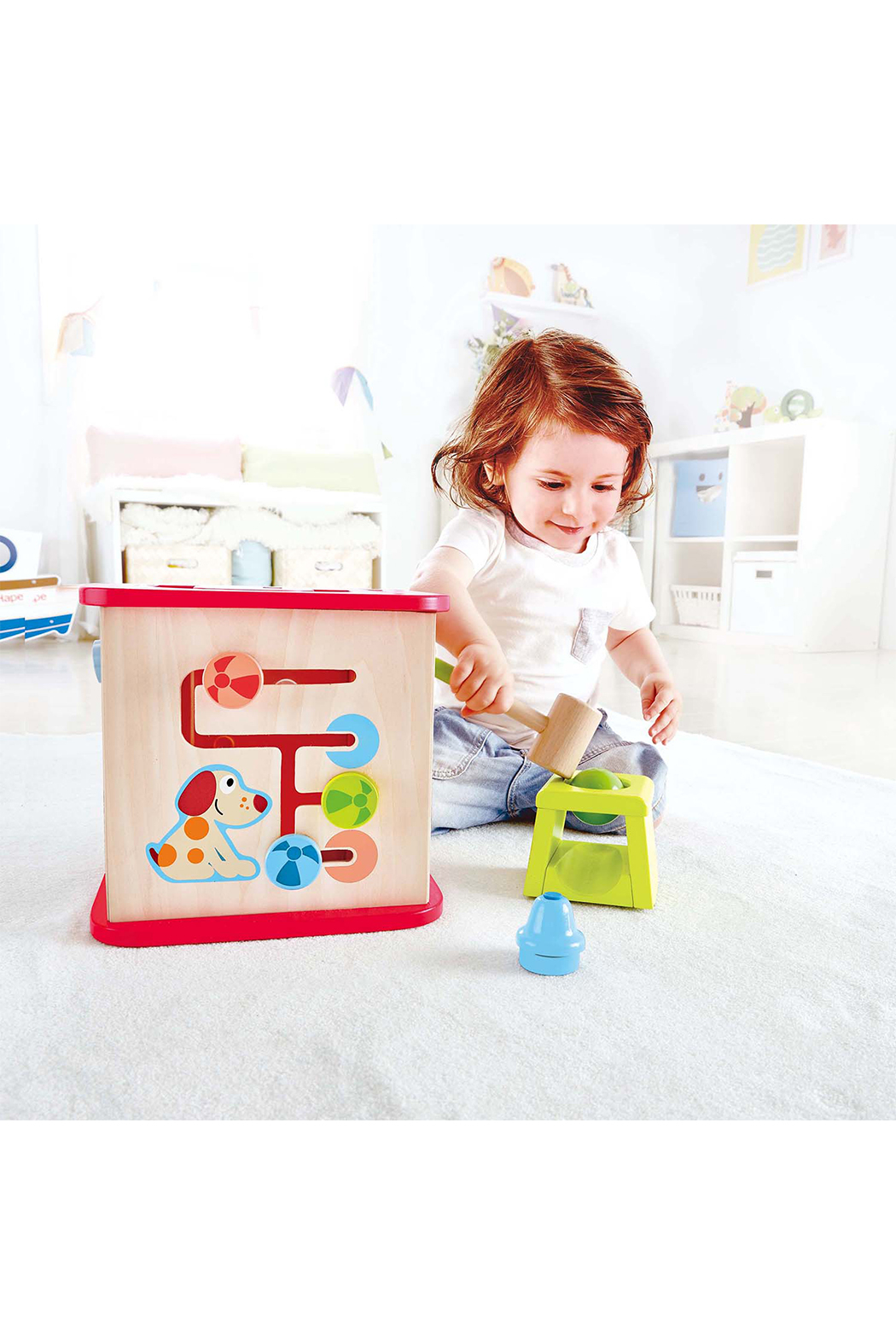 Hape Friendship Activity Cube - Side Cropped Image