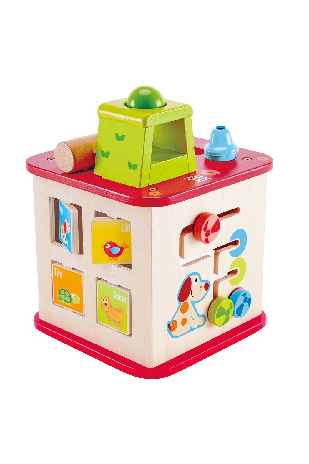 Hape Friendship Activity Cube - Front Cropped Image