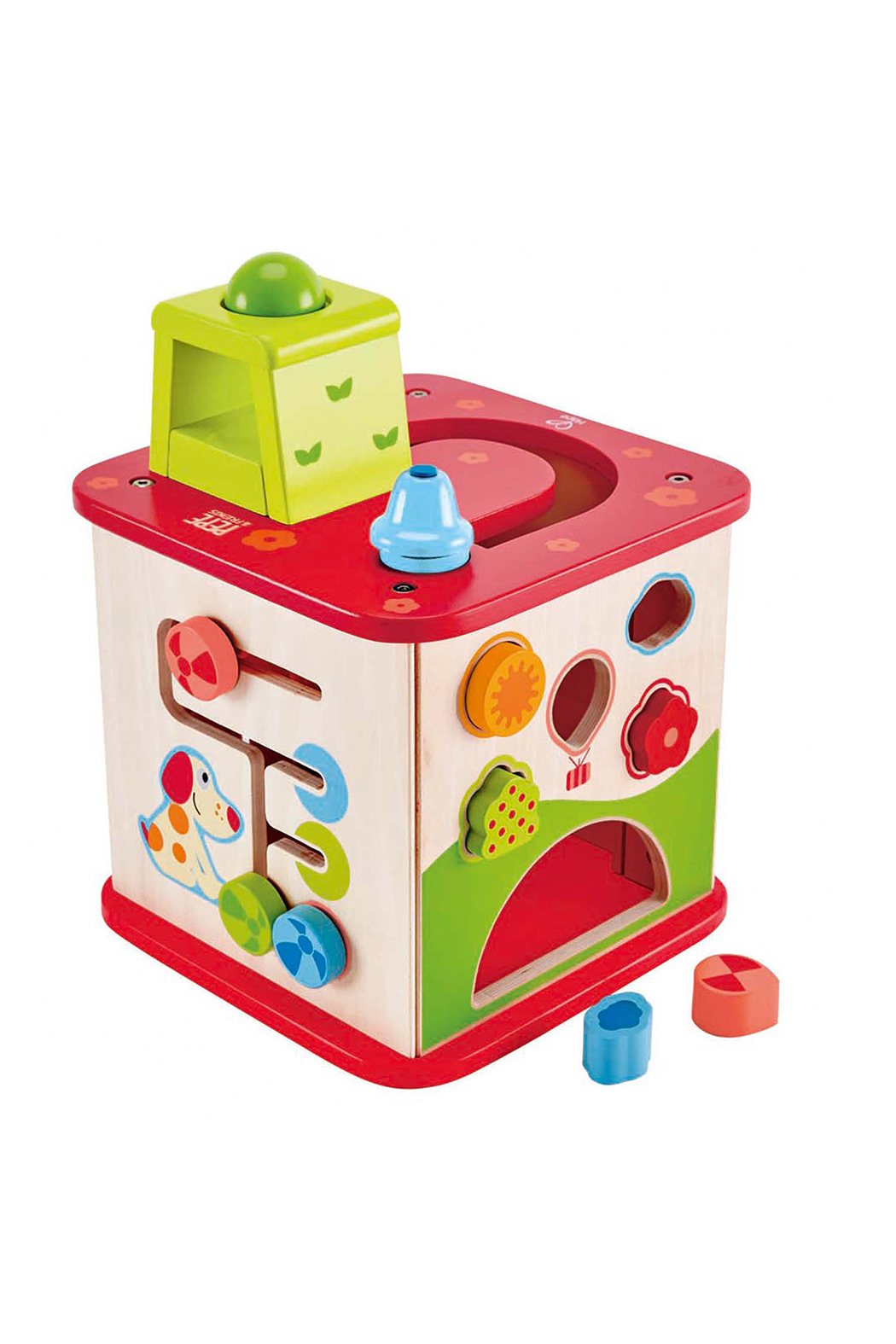Hape Friendship Activity Cube - Front Full Image